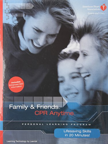 9780874934878: Family & Friends CPR Anytime