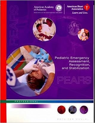 9780874935356: Pediatric Emergency Assessment, Recognition, and Stabilization Provider Manual: Professional