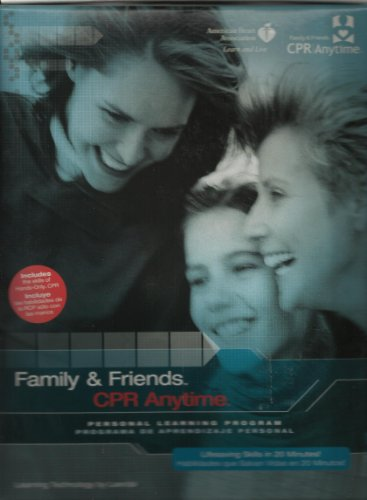 9780874935448: Family & Friends CPR Anytime: Personal Learning Program Kit