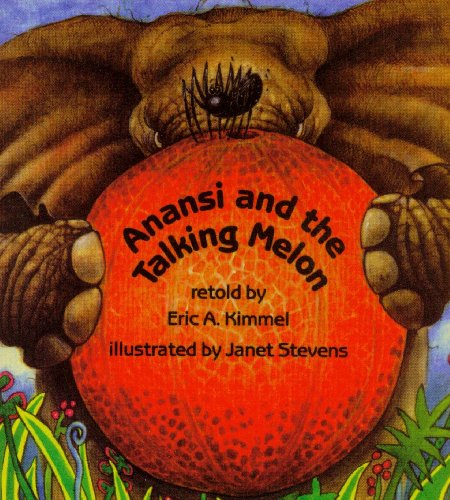 9780874993394: Anansi and the Talking Melon (Live Oak Readalong)(book & cassette)