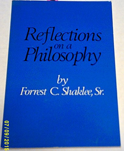 9780875020389: Reflections on a Philosophy
