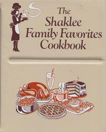 The Shaklee family favorites cookbook: Shaklee