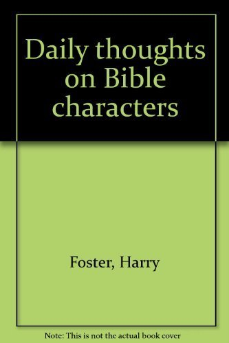 9780875081960: Daily Thoughts on Bible Characters