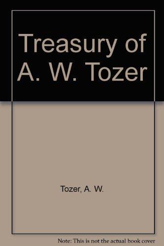 9780875092812: Treasury of A. W. Tozer