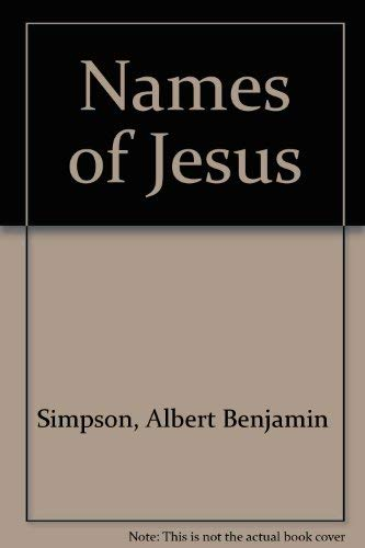 9780875098449: The Names of Jesus