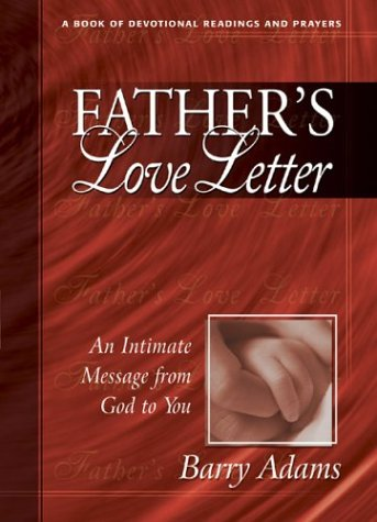 9780875099996: Father's Love Letter: An Intimate Message from God to You