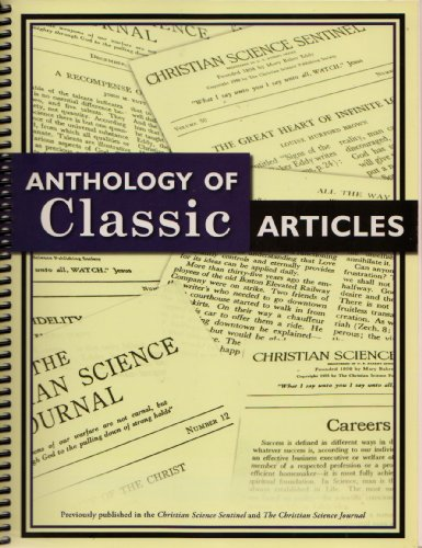 9780875104218: Anthology of Classic Articles