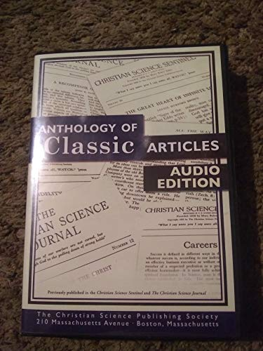 9780875104621: Anthology of Classic Articles : Audio Edition