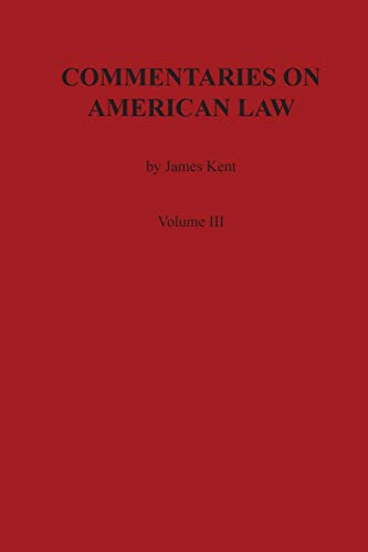 commentaries american law - First Edition - Books - AbeBooks