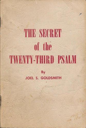 9780875161402: Secret of the Twenty Third Psalm