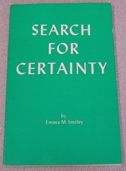 9780875161594: Search for Certainty