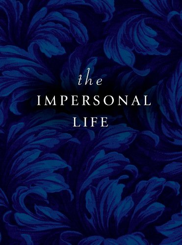 9780875163017: Impersonal Life