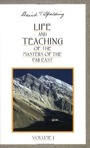 9780875163635: Life and Teaching of the Masters of the Far East, Vol. 1