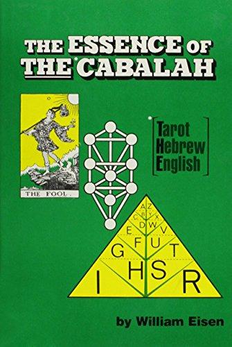 9780875165240: The Essence Of The Cabalah: Tarot, Hebrew, English