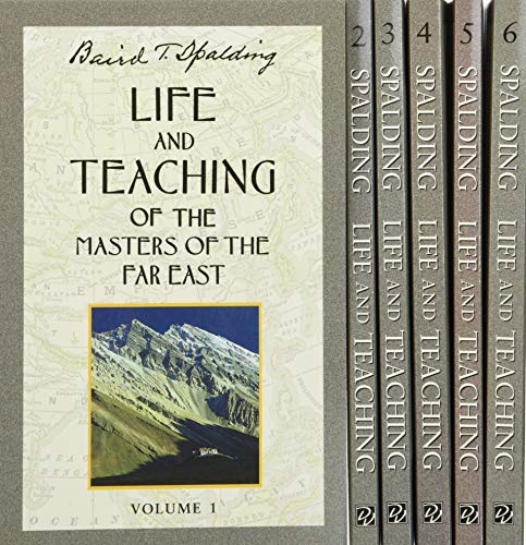 9780875165387: Life and Teaching of the Masters of the Far East (6 Volume Set)