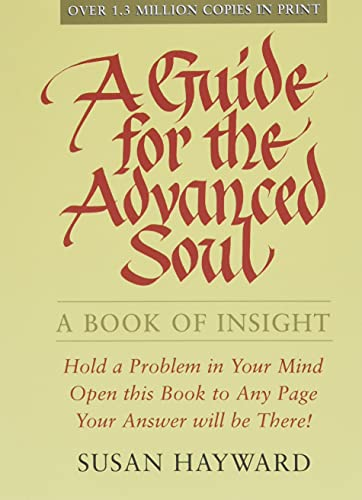 9780875168630: A Guide for the Advanced Soul: A Book of Insight
