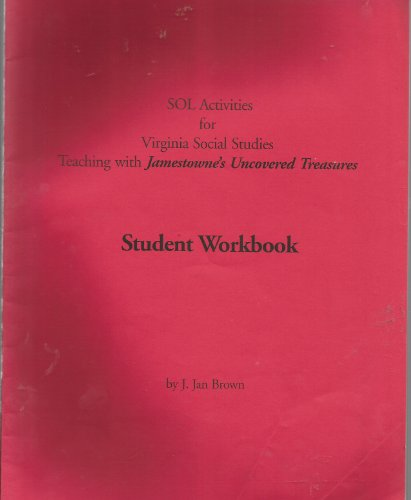 SOL Activities for Virginia Social Studies, teaching with Jamestowne's Uncovered Treasures ...