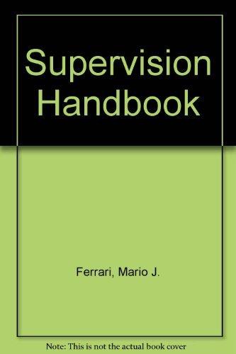 9780875263786: Supervision Handbook
