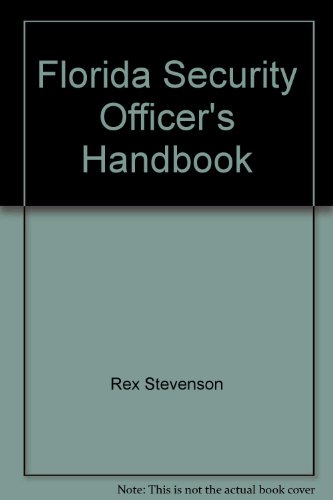 9780875264325: Florida Security Officer's Handbook