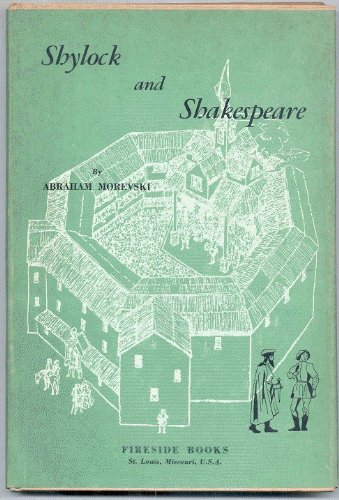 9780875270562: Shylock and Shakespeare