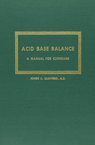 9780875271484: Acid Base Balance: A Manual for Clinicians