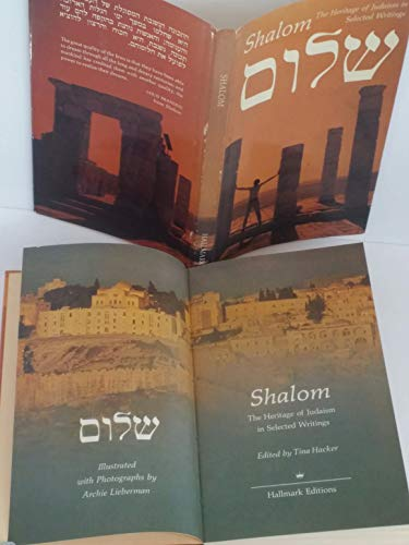 Shalom: The Heritage of Judaism in Selected: Hacker, Tina