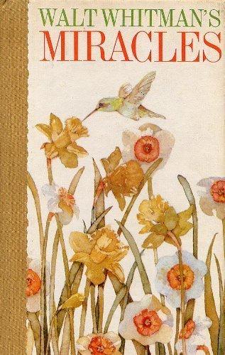 9780875293271: Miracles: Walt Whitman's Beautiful Celebration of Life