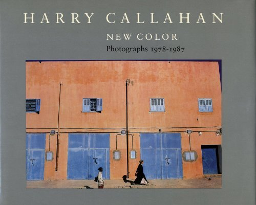9780875296241: Harry Callahan: New Color : Photographs 1978-1987
