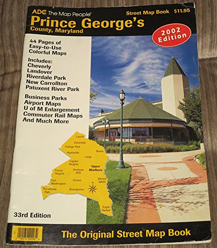 9780875300368: Adc Prince George's County, Maryland: Street Map Book 2003