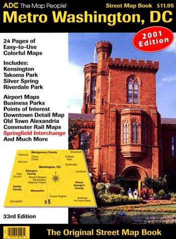 Metro Washington, D.C., Street Map Book: ADC, the Map