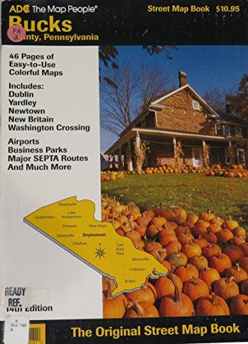 ADC Street Map Book, Bucks County, Pennsylvania: Adc