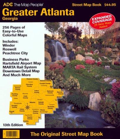 9780875301464: Greater Atlanta, Georgia Street Map Book
