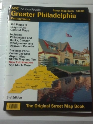 9780875302096: Adc Street Map Book Greater Philadelphia: Pennsylvania