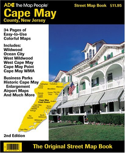 Street Map Book of Cape May County, New Jersey (9780875303048) by ADC
