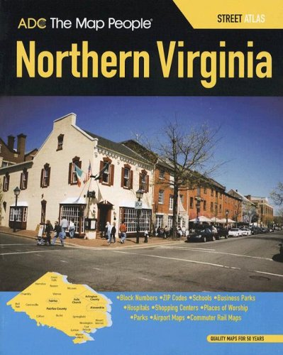 ADC Virginia Northern: Street Atlas