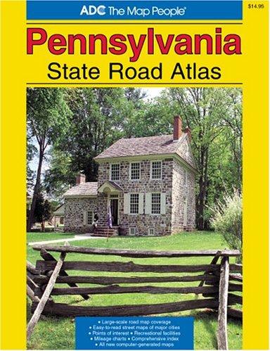 9780875303710: Pennsylvania State Road Atlas