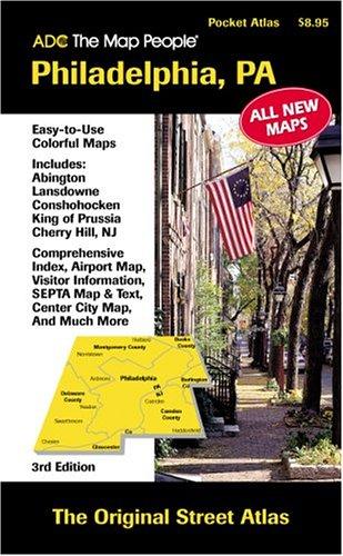 Philadelphia Pa Pckt Atlas 3/E: ADC the Map People
