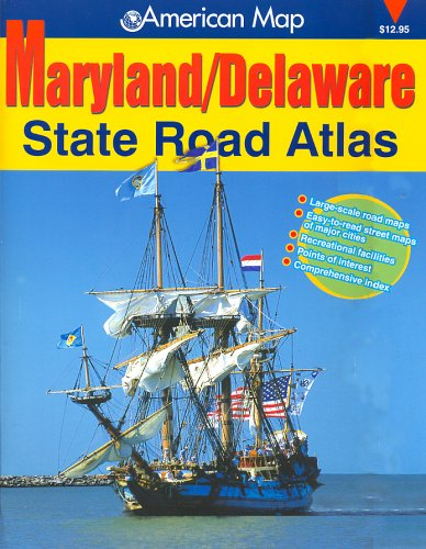9780875303918: Maryland/Delaware State Road Atlas