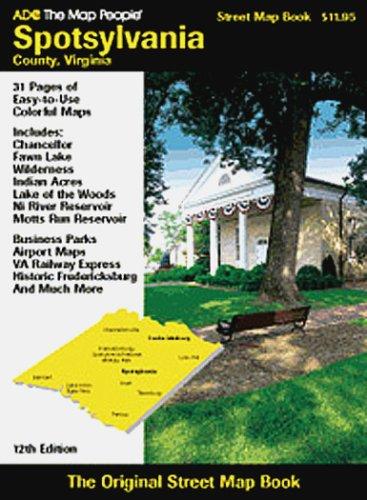 9780875304281: Spotsylvania County, Va. Atlas