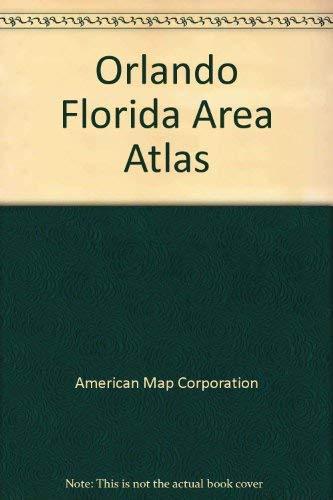9780875304533: American Map Orlando Area Street Atlas