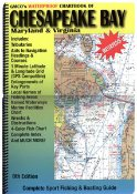 9780875305844: ADC Chesapeake Bay: Maryland & Virginia, Chartbook: Complete Sport Fishing & Boating Guide (American Map Regional Atlas: Chesapeake Bay (Chartbook))