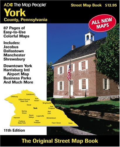 9780875306131: ADC the Map People York County, Pa. Street Map Book on street map west fargo nd, street map yuba city ca, street map watertown sd, map of pa, streets of york pa, topographical map york pa, street map waterford mi, street map whittier ca, street map st. john, weather york pa, i love york pa, street map wallingford ct, street map yankton sd, house york pa, street map westminster md, street map of york, street map west haven ct, street map indianapolis in, google york pa, mapquest york pa,