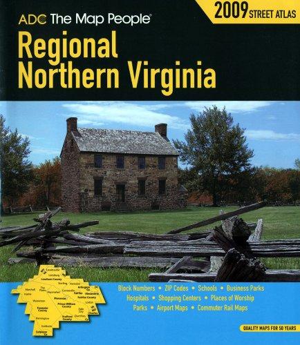 9780875307404: Regional Northern VA Atlas (American Map Regional Street Atlas: Northern Virginia)
