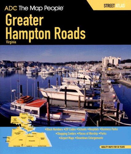 9780875308609: ADC the Map People Greater Hampton Roads Virginia: Street Map Book