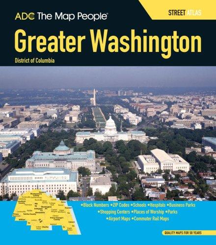 9780875308708: ADC Greater Washington D.C. Street Atlas