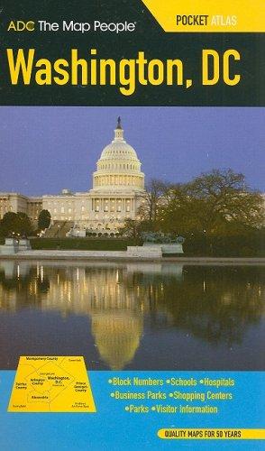 9780875308715: ADC The Map People Washington, DC Pocket Atlas
