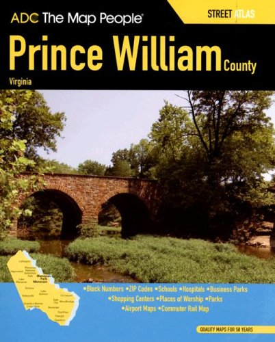 Prince William County Zip Code Map.Adc The Map People Prince William County Virginia Street Atlas By