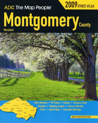 9780875309453: Montgomery County MD Atlas (Montgomery County (MD) Street Map Book)