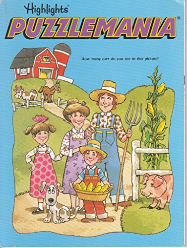 Puzzlemania Book 6 (Puzzlemania Superchallenge) (v. 6): Highlights for Children