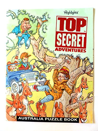 9780875348148: Top Secret Adventures Australia Puzzle Book